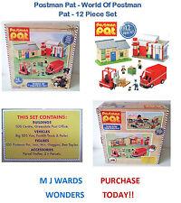 Postman Pat - World Of Postman Pat - 12 Piece Set - Includes 3 Figures & Jess