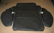 NEW GENUINE AUDI A8 FRONT SEAT BASE COVER BLACK VALCONA LEATHER 4E0881405R22A