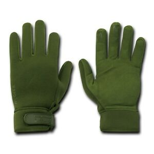 Olive Patrol Police Hatch Water Resistant Tactical Gloves Glove Pair M L XL 2XL