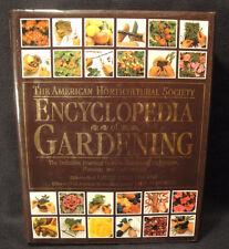 AMERICAN HORTICULTURAL SOCIETY Book Encyclopedia Gardening 1993 First Ed VTG