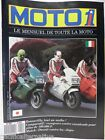 Revue MOTO 1 magazine n° 51 - mai 1987 motard bike motorrad bonneville le mans