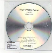 (EH490) The Chapman Family, Virgins / Good Times - 2009 DJ CD
