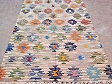 Ivory Wool Area Rug Living Room Soft Carpet Handmade Scandinavian Home Decor