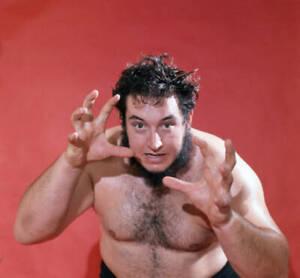 Wrestler Gorilla Monsoon Of The USA 1960s OLD PHOTO