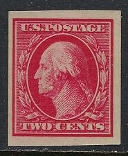 SCOTT 384 1910 2 CENT WASHINGTON REGULAR ISSUE MH OG F-VF!