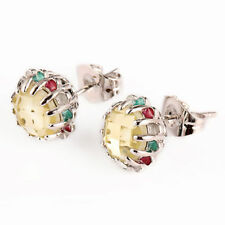 Unbranded Stud White Gold Filled Fashion Earrings