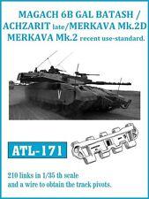1/35 FRIULMODEL ATL-171 METAL TRACKS for ACHZARIT LATE & MERKAVA Mk 3D PROMO