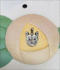 Yorkshire Terrier Sterling Silver Charm - New - FREE SHIPPING