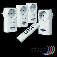 Home Easy Funk Steckdosen Set 3x1000W Schalter Dimmer 200W Fernbedienung HE815S