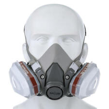 Chemical Respirator outdoor Double Gas Mask Protection Filter
