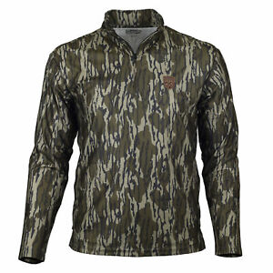 Mossy Oak Gamekeeper Firebreak Quarter Zip