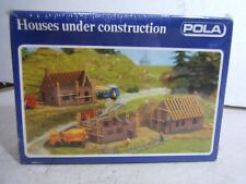 POLA N Scale Houses Under Construction Model Railroad / Other Diorama Kit