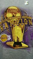 VINTAGE  KOBE BRYANT LOS ANGELES LAKERS 2000 NBA CHAMPIONS SHIRT YOUTH LARGE NWT