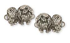 Pekingese Cufflinks Handmade Sterling Silver Dog Jewelry Pk11-Cl