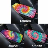 Tie-dye Console Armrest Car SUV Center Box Soft Pad Cover Durable Mat Cushion