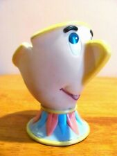 Vintage Disney Beauty And The Beast 4.5 Inch Tall Chip Potts Rubber Toy Figure