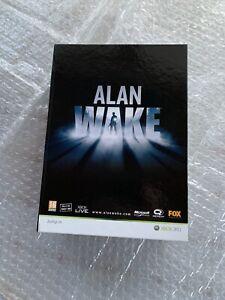 (Xbox 360) Alan Wake - Press Kit - Spanish Version (VERY RARE)