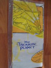 "Party Express 2002 One Treasure Planet Paper Tablecover 54"" x 89"" NOS Rare"