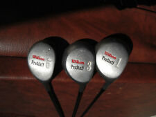 Wilson ProStaff 1- 3 -5 Woods Set. Graphite Shaft. Regular Flex.