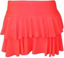 Gonne e minigonne da donna rosa in poliestere party