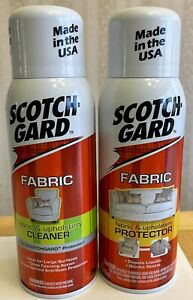 Scotchgard 2-Pack Fabric & Upholstery 14oz Protector/Cleaner & 10oz Protector