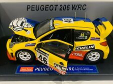 Sunstar 1/18 Scale - 3858 Peugeot 206 Wrc Rally Great Britain 2002 V.rossi