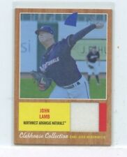 JOHN LAMB 2011 Topps Heritage Minors Clubhouse Relics Jersey #D /199