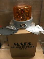 Mars Signal Light Company Skybolt Beacon Light SW-2 2 BEACONS AMBER 12V NEW