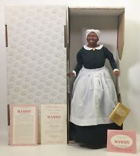 The Franklin Mint Mammy Gone With The Wind Heirloom Collector Doll Nib