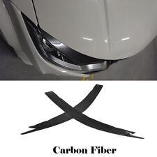 For Honda Civic Type-R 2015-2016 Headlight Eyebrows Eyelids Carbon Fiber 2PCS