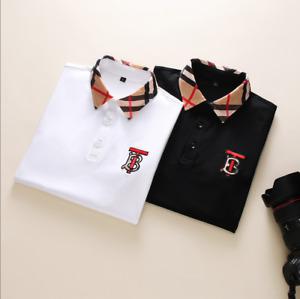 The best gift for boyfriend in Burberry Summer Cotton Men's T-shirt