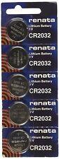 10 Piles  RENATA CR2032 3V  au lithium CR 2032