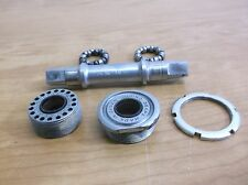 """Vintage Sugino French threaded bottom bracket with MW-68 spindle 35 x 1"""""""