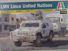 UN Militärfahrzeug Iveco LMV Lince    - Italeri  Bausatz 1:35 - 6535  #E