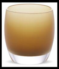 Glassy Baby Glassybaby Blown Glass Votive Candle Holder Warm Gravy &Gift Box NEW