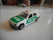 Majorette BMW 325 i Polizei in White/Green