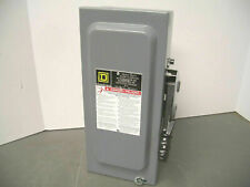 Square D Disconnect Type 1 Hu361 30amp 600volt 3pole Non Fusible