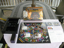 Star Wars Trivial Pursuit DVD Game Saga Edition~Never Used~Some Sealed Parts!