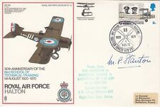 Sc13a RAF Halton Signed Air Cdre M P Stanton WW11 Pilot Commandant RAF Halton.