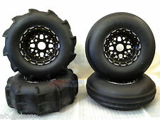 "DWT STI Beadlock Sand Wedge 30"" Paddle Tires 14"" Front Rear Can-Am Maverick Dune"