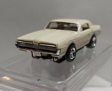 AURORA TJET500 HO SLOT CAR MERCURY COUGAR WITH  DISPLAY BOX