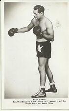 Clem Sands (West Kempsey Nsw) Australian Aboriginal Boxer Photo Postcard