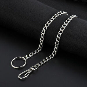"""NEW Silver Link Biker Trucker Punk Light Duty Keychain Wallet Chain 15 """" Long"""