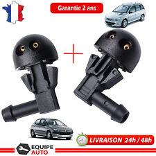 Buse Gicleur de lave-glace GAUCHE et DROIT pour Peugeot 206