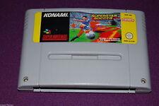 INTERNATIONAL SUPERSTAR SOCCER - Konami - Jeu Football Super Nintendo EUR