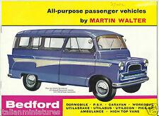Bedford CA Dormobile PSV Ambulance High Top Utilabus UK 1961 Brochure