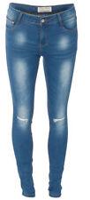 Jeans da donna slim, skinny in denim taglia 44