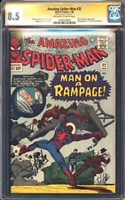 AMAZING SPIDERMAN 32 CGC 8.5 SS STAN LEE 2ND APP OF DR CURT CONNORS MCU HOT MINT