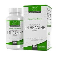 L-Theanine 400mg |  120 Vegetarian Capsules |  Relieves Stress & Promotes Calm