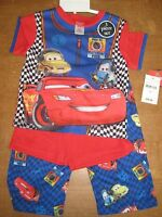Disney Pixar CARS 3 Piece Sleepwear,TODDLER SIZES, *CHOOSE SIZE*  New w/Tags
